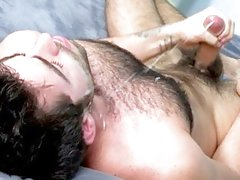 Dilf fucks hairy gay man outdoor